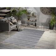 Hochflorteppich Enna, 160/230 - Grau, MODERN, Textil (160/230cm)