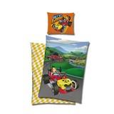 Bettwäsche Mickey Mouse Flitzer 140/200cm Multicolor - Multicolor, Design, Textil