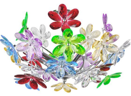 Deckenleuchte Rainbow - Multicolor, KONVENTIONELL, Kunststoff/Metall (46/27cm)