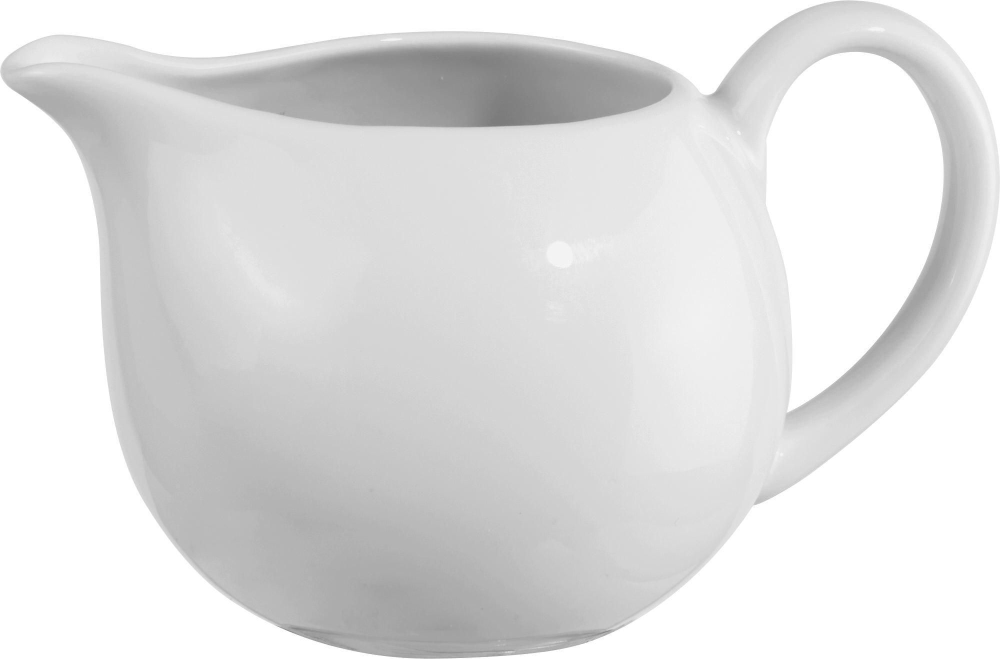 Tejeskancsó Felicia - fehér, konvencionális, kerámia (26cm) - OMBRA