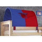 Tunnelset 2er Blau/ Naturfarbe/ Rot - Blau/Rot, Design, Textil (180/11/16cm)