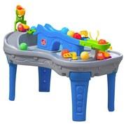 Ballspieltisch Fahren und Rollen - Blau/Orange, Basics, Kunststoff (58/90/69cm)