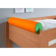 Nackenrolle Grün/Orange - Orange/Grün, Design, Textil (80/16/16cm) - Livetastic