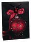 Geschenktasche A4 - Blau/Rot, KONVENTIONELL, Papier (25/8,5/34,5cm)