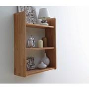 Hängeregal Simone 60x74cm Massiv, Buche B: ca. 60 cm - Buchefarben, Basics, Holz (60/74/20cm) - Livetastic
