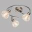 LED-Spotrondell Aloha 3-flammig - Chromfarben, MODERN, Glas/Metall (25/13,5cm)