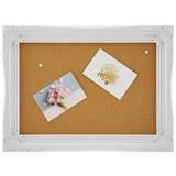 Pinnwand Albiana - Weiß, MODERN, Papier/Holzwerkstoff (56,5/42,5/2,5cm) - Luca Bessoni