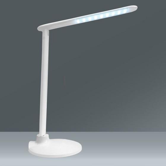 Lampa Na Písací Stôl Sean - biela, Konvenčný, umelá hmota/kov (19/19/47cm) - Mömax modern living