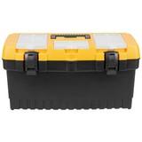 Werkzeugkoffer Finlay Schwarz - Gelb/Schwarz, KONVENTIONELL, Kunststoff (48,6/26,7/24,2cm) - Homezone