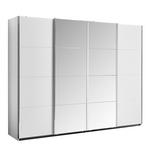 Schwebetürenschrank mit Spiegel 361cm Bensheim, Weiß Dekor - Klar/Weiß, MODERN, Holzwerkstoff (361/230/62cm) - James Wood