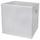 Faltbox Cubi - Weiß, MODERN, Holzwerkstoff/Textil (32/32/32cm)