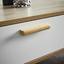 Konferenčný Stolík Claire - farby dubu/biela, Moderný, drevo (79/83/34cm) - Modern Living