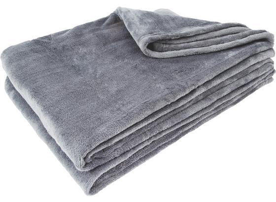 Měkká Deka Kuschelix - antracitová, textil (140/200cm)