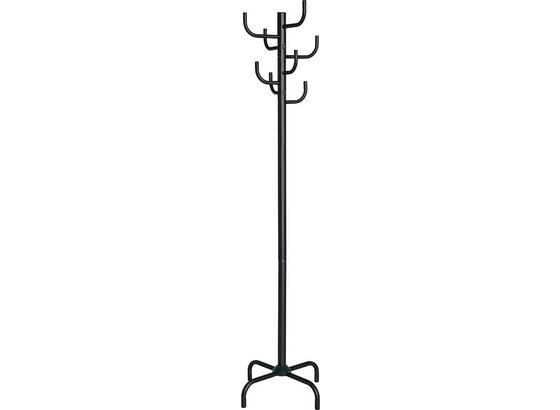 Kleiderständer Cactus - Schwarz, MODERN, Metall (47/180/47cm)