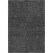 Hochflor Teppich Dunkelgrau Roma 160x230 cm - Dunkelgrau, MODERN, Textil (160/230cm)