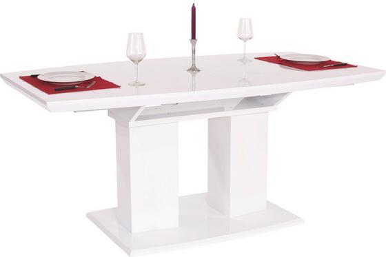Kihúzható Asztal Malvin 180 Az - Fehér, modern, Faalapú anyag (180/76/90cm)