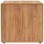 Komoda Fontana - barvy dubu, Moderní, kompozitní dřevo (89/87/40cm)