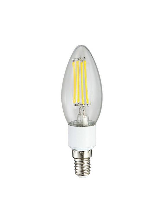 LED-Leuchtmittel Cody - Klar, KONVENTIONELL, Glas/Metall (3,5/9,8cm)