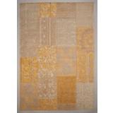 Flachwebeteppich Vintage, 140/200 - Beige, MODERN, Textil (140/200cm)