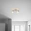 Bodové Svítidlo Bahar - bílá/barvy stříbra, Romantický / Rustikální, kov/umělá hmota (29cm) - Modern Living
