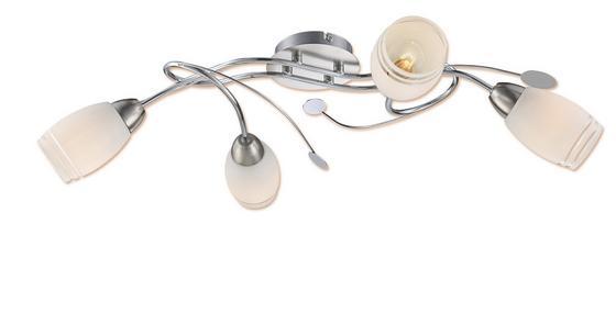 Mennyezeti Lámpa Anisa - Nikkel, konvencionális, Üveg/Fém (68/39/17cm) - OMBRA