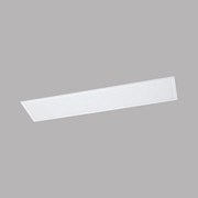 LED-Paneel Salobrena 2 - Weiß, MODERN, Kunststoff/Metall (120/30/1,1cm)