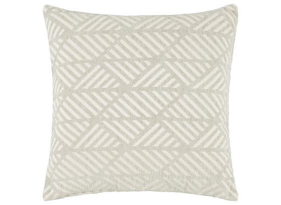 Povlak Na Polštář Mary Jacquard - světle šedá, Moderní, textil (45/45cm) - Mömax modern living