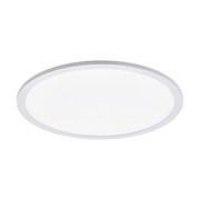 LED-Paneel Sarsina - Weiß, MODERN, Kunststoff/Metall (45/5cm)