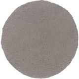 Badteppich Molly DM:80cm - Grau, MODERN, Textil (80cm) - Kleine Wolke