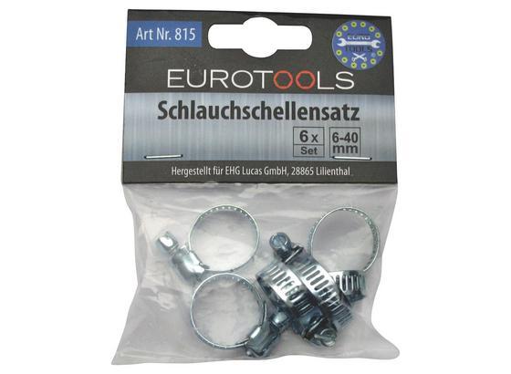 Schlauchschellenset 6-Teilig - KONVENTIONELL, Metall (3cm)