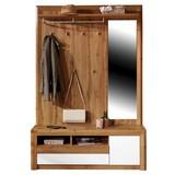 Predsieň Kashmir New - farby dubu/biela, Moderný, kompozitné drevo (130/200/36cm) - James Wood