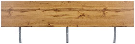 Kopfteil Belia, für Bett 180x200 cm - Eichefarben, KONVENTIONELL, Holzwerkstoff (187cm)
