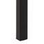 Esstisch Seaford B: 80 cm Eichefarben - Eichefarben/Schwarz, KONVENTIONELL, Holzwerkstoff/Metall (160/80/74cm) - Carryhome