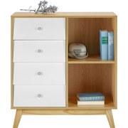 Komoda Enny - farby borovice/biela, Moderný, drevo (80/88/35cm) - MÖMAX modern living