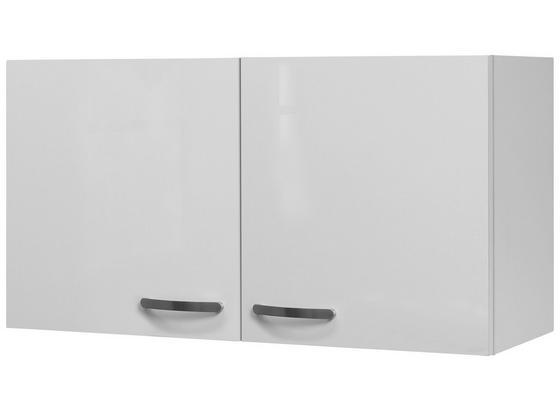 Kuchyňská Horní Skříňka Alba  H 100 - bílá, Moderní, kompozitní dřevo (100/54/32cm)
