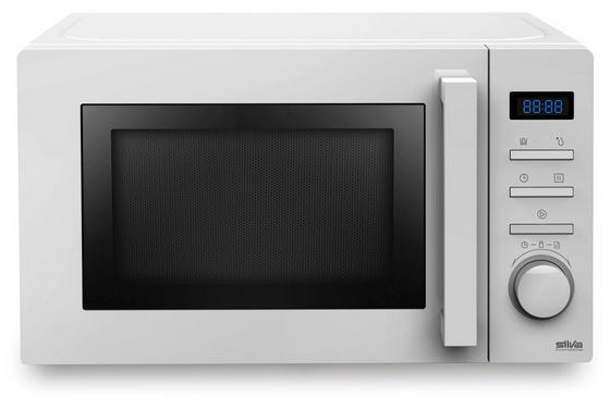 Mikrowelle MWg-e 20.6 - Weiß, KONVENTIONELL, Metall (44/26/36cm) - Silva Schneider