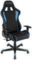 Gamingstuhl DX Racer Formula Schwarz/blau - Blau/Schwarz, MODERN, Kunststoff/Textil (67/119-128/67cm) - Dxracer