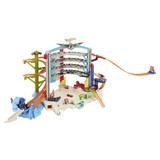 Spielesammlung Hot Wheels Megacity Parkgarage - Basics, Kunststoff (76,2/60,96/14,60cm)
