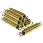 Trampolin 153x214cm mit Sicherheitsnetz/Salta Combo - Schwarz, Trend, Kunststoff/Metall (153/214cm)