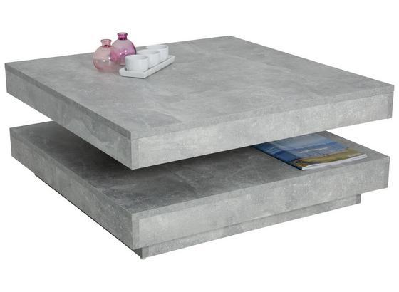couchtisch ben mit drehbarer tischplatte grau modern with tischplatte