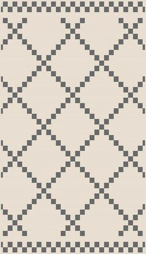 Hladce Tkaný Koberec Edgar 2 - barvy stříbra/krémová, Moderní, textil (100/150cm) - Mömax modern living