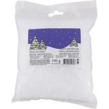 Kunstschnee Weiß 100 G - Weiß, KONVENTIONELL, Kunststoff