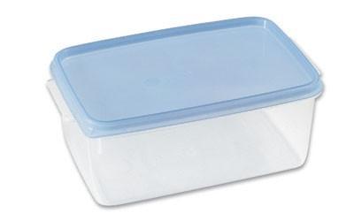 Frissentartó Doboz 1,3 Liter - tiszta, konvencionális, műanyag (12/8,5/18cm)