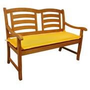 Bankauflage Premium T: 120 cm Gelb - Gelb, Basics, Textil (45/8-9/120cm) - MID.YOU