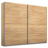 Schwebetürenschrank 226cm Belluno, Sonoma Eiche Dekor - Sonoma Eiche, MODERN, Holzwerkstoff (226/230/62cm)