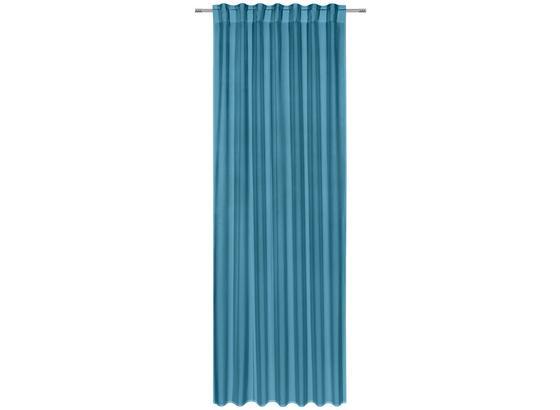 Kombinovaný Záves Ulli 300cm - petrolejová, textil (140/300cm) - Mömax modern living