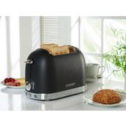 Toaster Al T2.2 B Schwarz 850W 220-240V - Schwarz, MODERN, Metall (32/21/17cm) - Schneider
