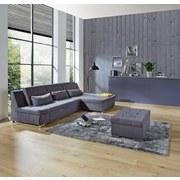 Wohnlandschaft City - Graphitfarben/Silbereichenfarben, MODERN, Kunststoff (292/171cm)