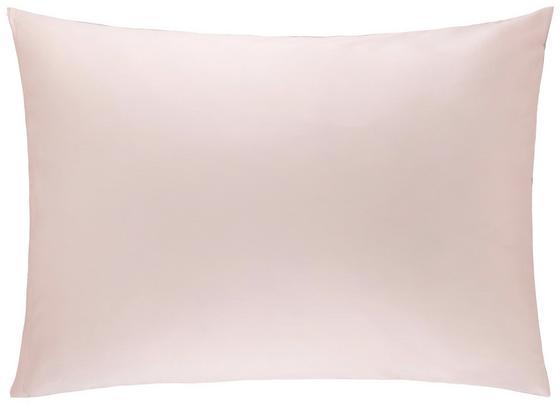 Povlak Na Polštář Belinda, Cca 70x90cm - růžová/světle šedá, textil (70/90cm) - Premium Living