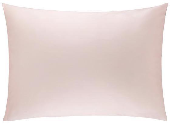 Povlak Na Polštář Belinda, Cca 70x90cm - růžová/světle šedá, textilie (70/90cm) - Premium Living